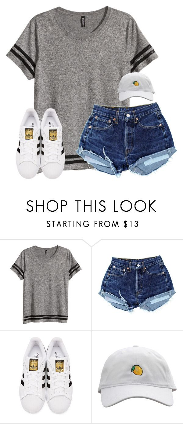 """""""lol anyone else love dance moms..?"""" by lydia-hh ❤ liked on Polyvore featuring H&M and adidas Originals"""