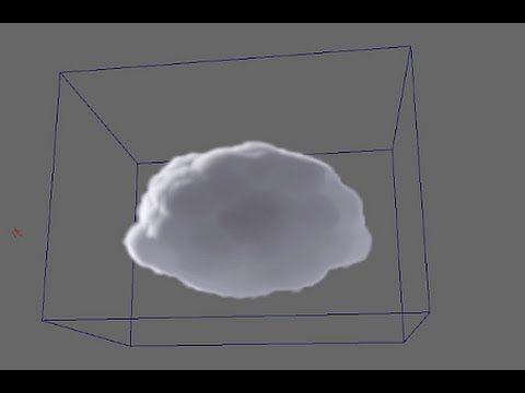 카와이한 구름 모델링 쉽게하기