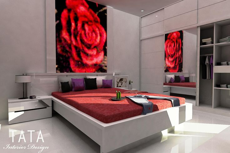desain kamar tidur minimalis modern - Google Search
