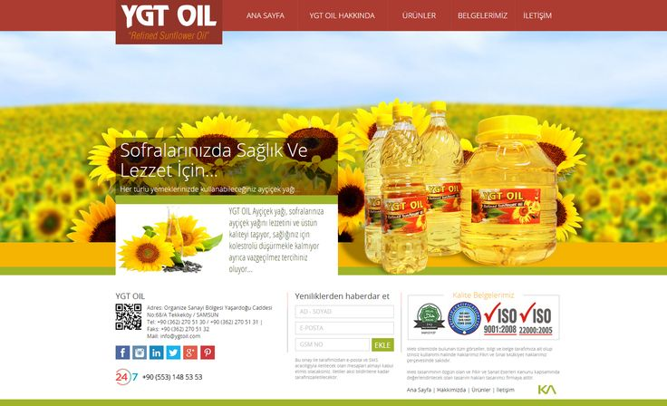 YGT OIL   Web Design