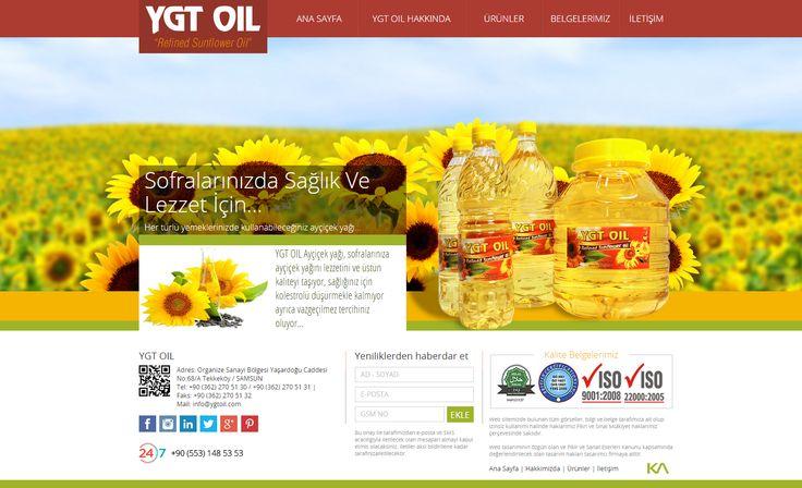 YGT OIL | Web Design