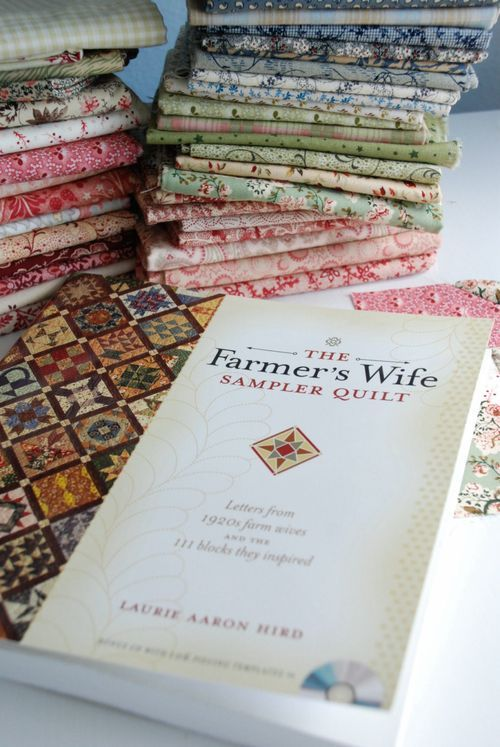 The Farmer's Wife Quilt Along.