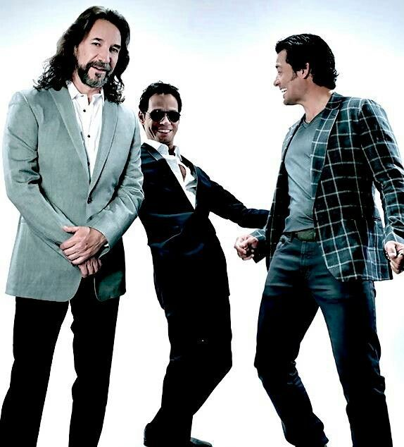 Marco Antonio Solis, Marc Anthony and Chayanne