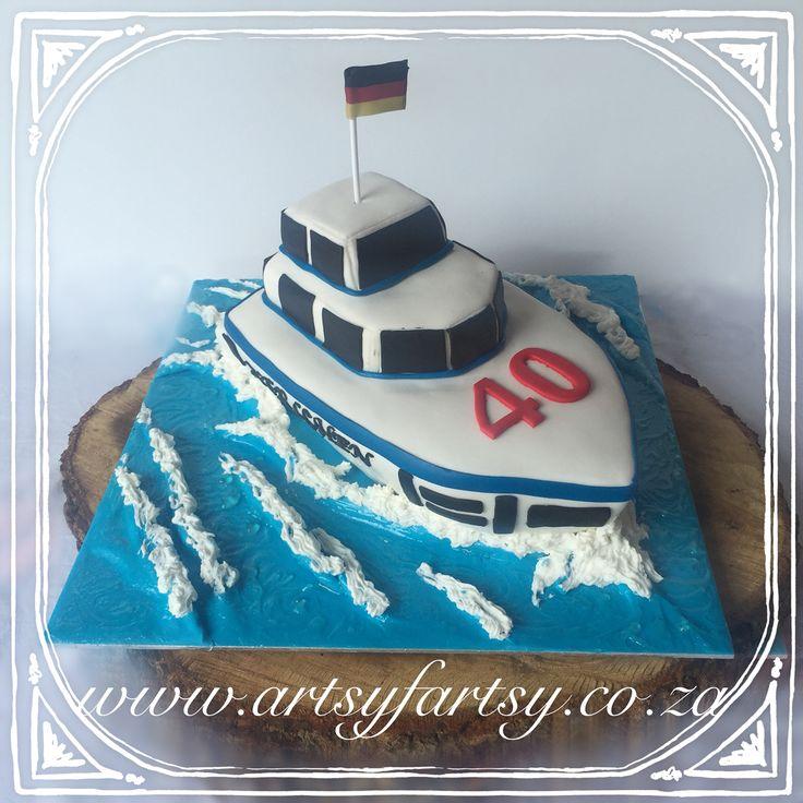 Yacht Cake #yachtcake