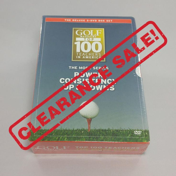 Big three golf dvd