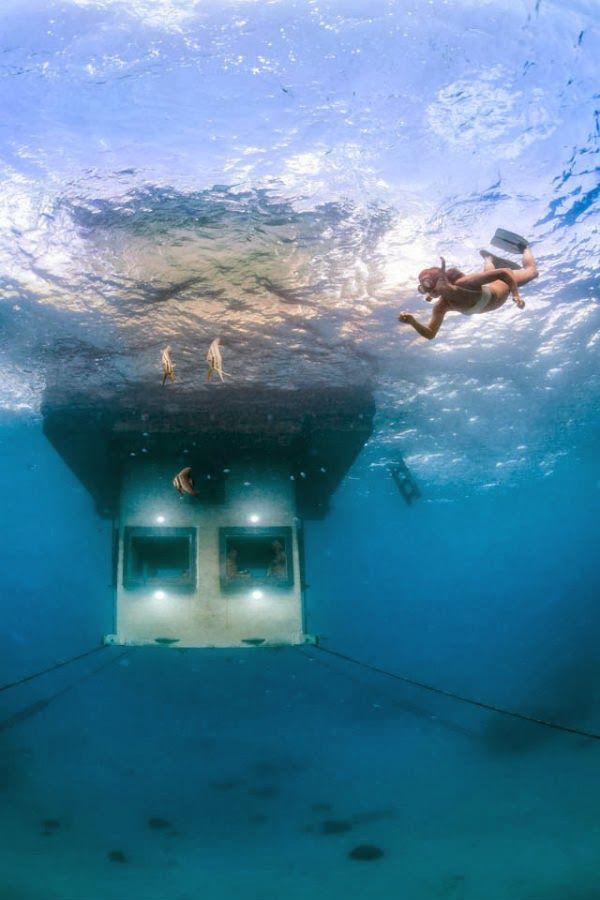 The Manta Underwater Room
