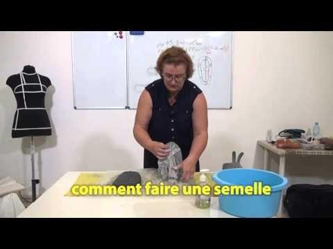 Felted slippers with Olga Demjanova Videotutorial (trailer)