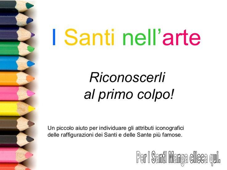 Immagini e fumetti per riconoscere i Santi nelle opere d'arte a partire dagli attributi iconografici tipici