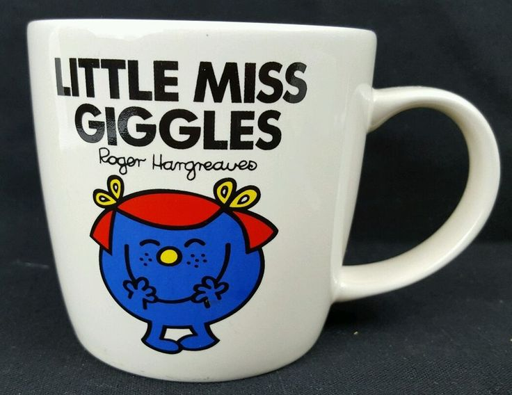 Little Miss Giggles Coffee Mug 2010 Roger Hargreaves Chorion Wild & Wolf Mr Men #WildWolf