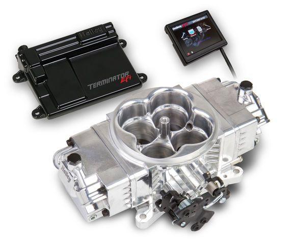 Terminator™ EFI 4bbl Throttle Body Fuel Injection Stealth