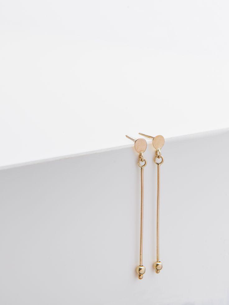 earrings - irma - Anna Lawska Jewellery / collection - closeness -