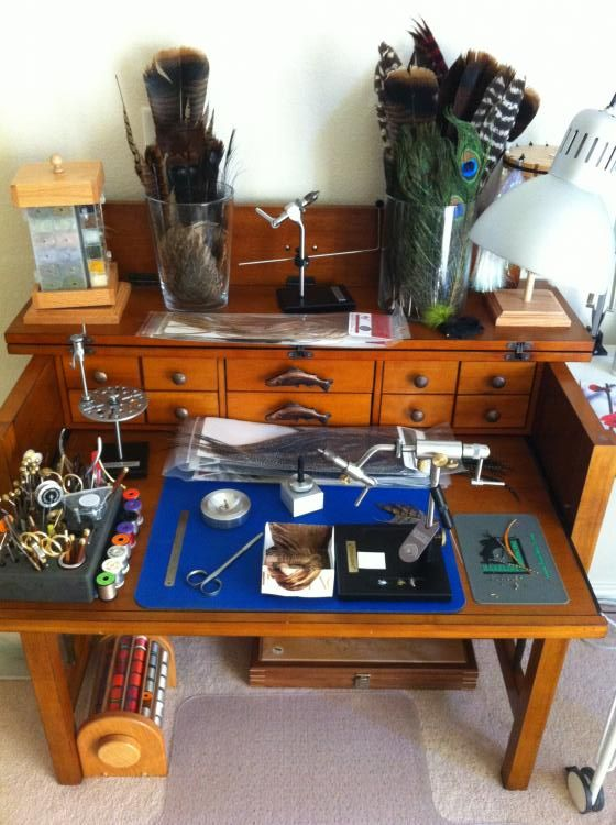 127 Best Fly Tying Desk Images On Pinterest Fishing Fly