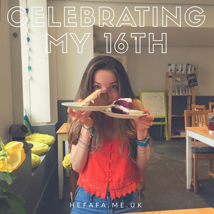 How do you like to celebrate your birthday? Read about what I did for my 16th here! 🎉😊🍰 by Heather Rowland on hefafa.me.uk