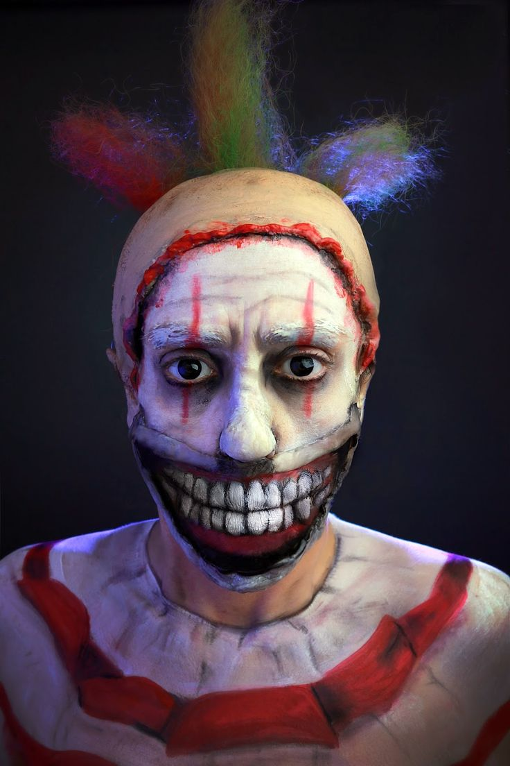 Best 25+ Scary clown makeup ideas on Pinterest | Scary clown ...