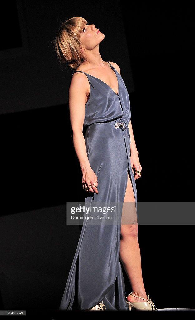 Photo d'actualité : Marina Fois attends the Cesar Film Awards 2013 at...