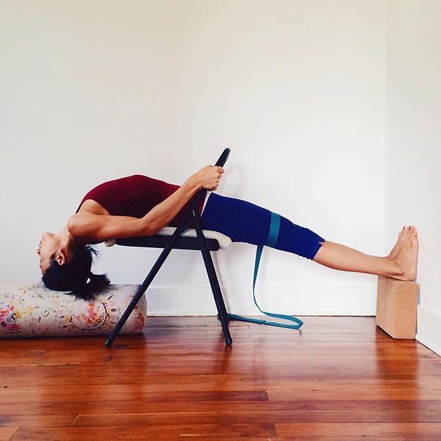 53 Best Iyengar Yoga Chair Inversions Images On Pinterest