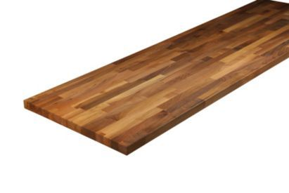 Natural Solid Wood Worktop Walnut 3000mm, 0000003880920