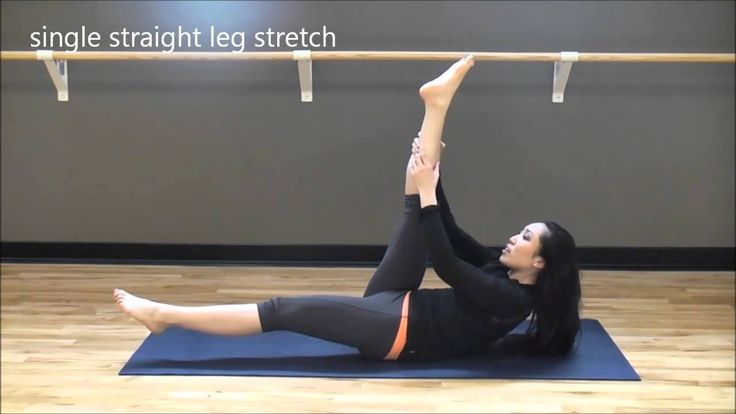 Cassey takes you through a PILATES workout for beginners. You will work your abs, your legs, and your arms. Principles such as proper breathing, posture, and form are explained in a very detailed manner, so this is also a great exercise video for people trying to understand Pilates basics.