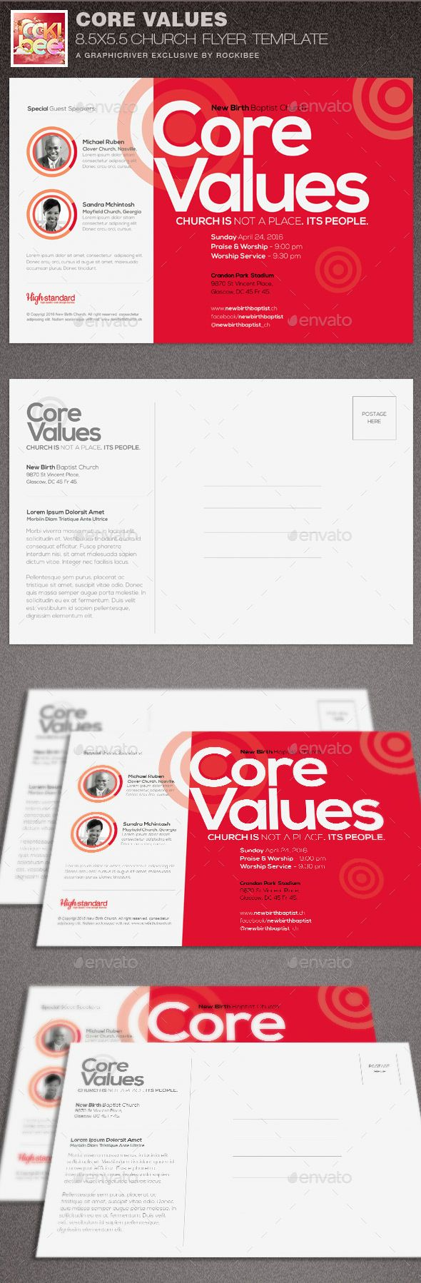 best images about church marketing flyer templates core values church flyer template