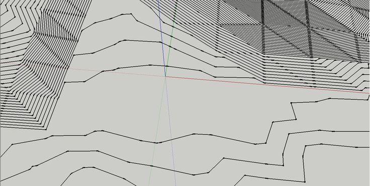 Criando Curvas de Nivel no Sketchup a partir de Imagem do Google Earth.  Ao usar o Sketchup para fazer uma modelação rápida de um edifício por vezes é necessário implanta-lo, sem curvas de nível em CAD podemos utilizar o Google Earth para extrair uma aproximação da topografia.    Para começar basta abrir o Google Earth e enquadrar a zona que querem, certifiquem-s