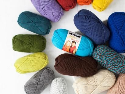 Shop Craftsy's premiere assortment of knitting supplies and save! Get the Bernat Softee Chunky Yarn before it sells out.  (aff link)