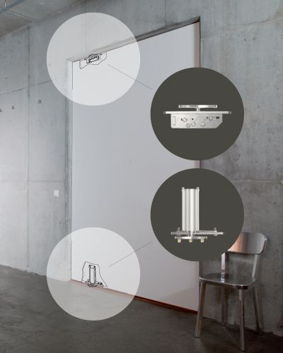 FritsJurgens Concealed Pivot System - Supplied by Bellevue