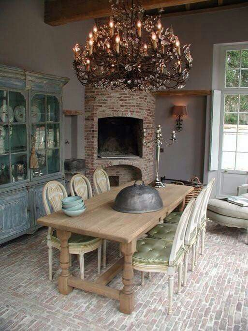 Dining Rooms Comedores Shabby Country Style Dream House French Country