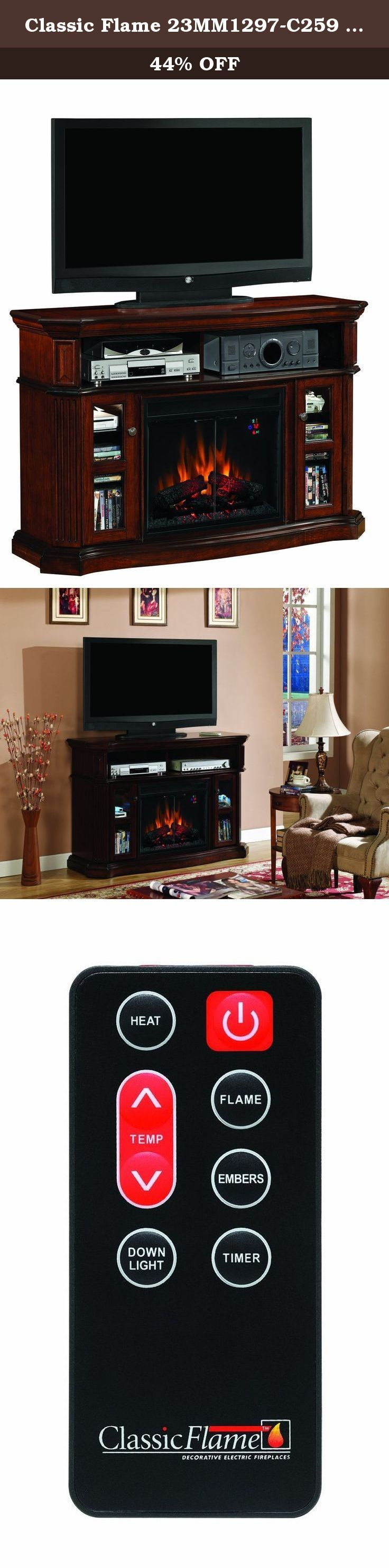 17 best ideas about electric fireplace with mantel on. Black Bedroom Furniture Sets. Home Design Ideas