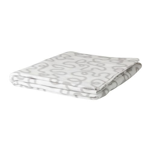 "$2.29 KRÅKRIS Throw IKEA Product dimensions Length: 67 "" Width: 51 ""   Length: 170 cm Width: 130 cm    Thinner fleece than others shown."