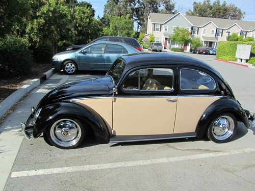 1958 Two Tone Volkswagen : Beetle - Classic coupe