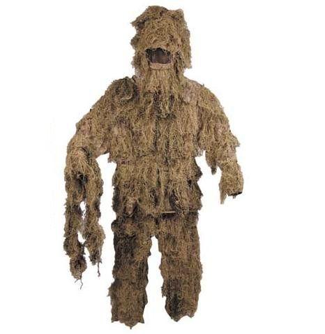 MFH Tarnanzug, Ghillie Suit, desert / mehr Infos auf: www.Guntia-Militaria-Shop.de