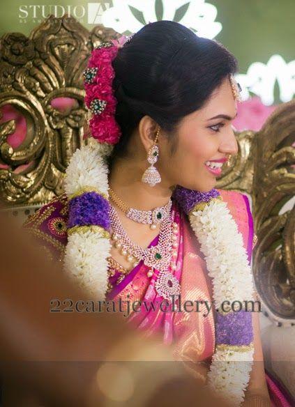 Jewellery Designs: Fabulous South Bride Wedding Sets