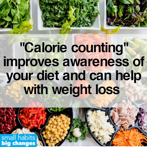 Count Your Calories And Improve Awareness Of Your Diet Healthy Diet Healthier You