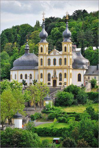 Würzburg Kapelle 'Käppele' Alemania.