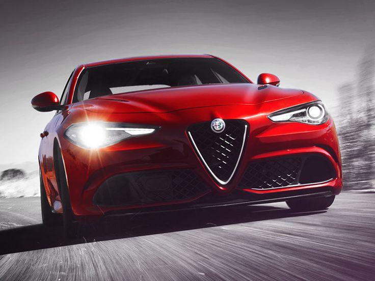 2018 Alfa Romeo Giulia Quadrifoglio Front Fascia
