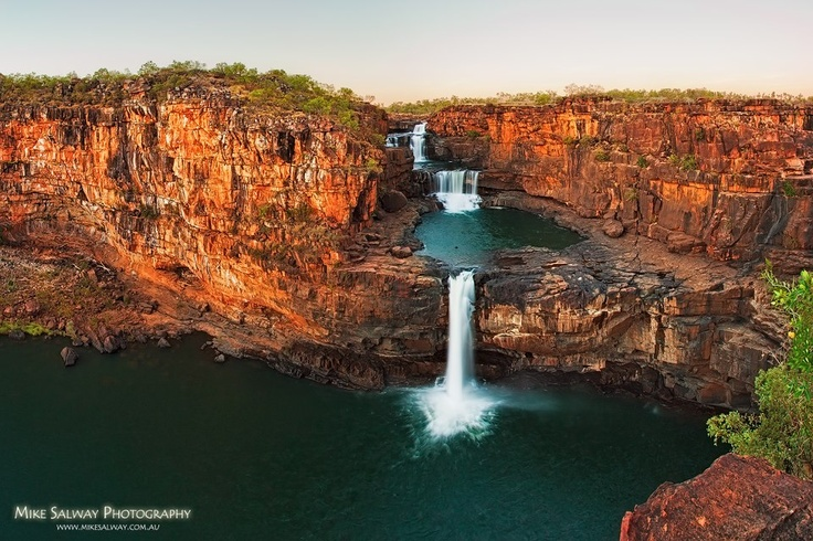 Mitchell Falls - Western Australia - enlarge this beautiful photo by www.mikesalway.com.au