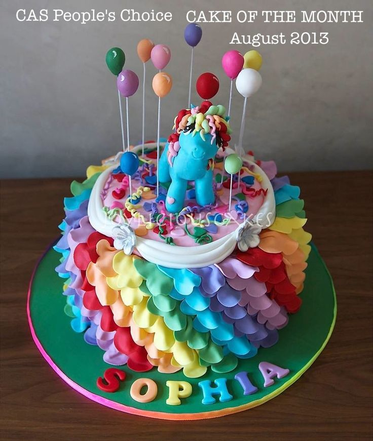 142 best Cakes My Little Pony images on Pinterest My little