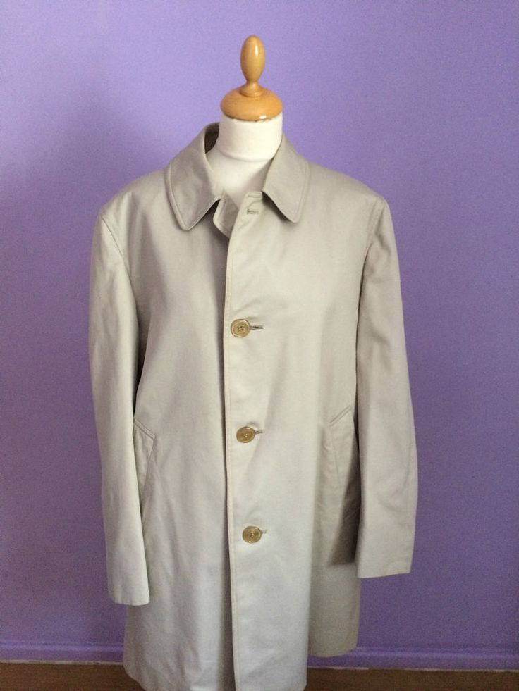 Mens Vintage Aquascutum Raincoat Mac For Sale In Our Ebay