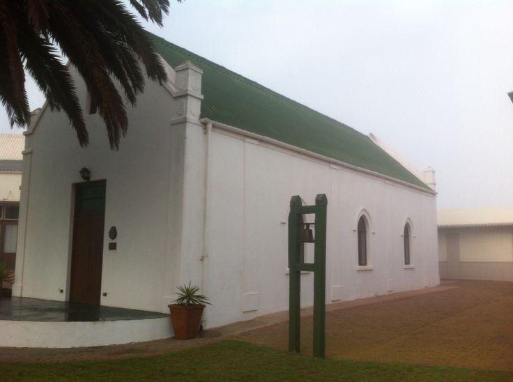 Dutch Reformed church Langebaan - beautiful heritage building on the Westcoast