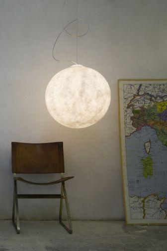Svítidlo Luna z nebulitu