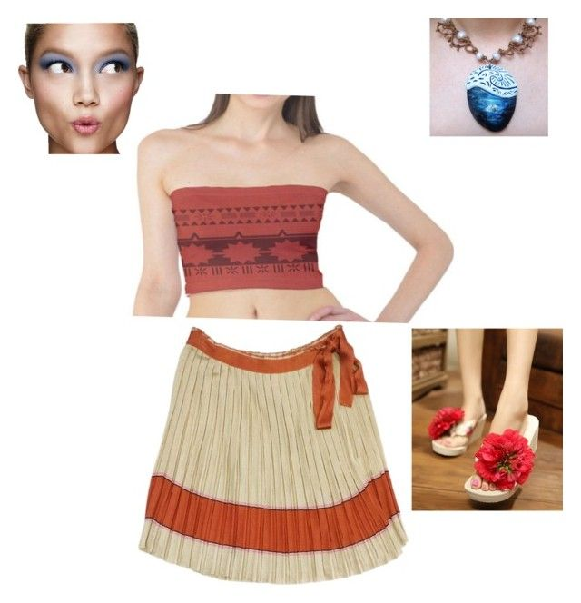 """moana"" by sophiechanfashion on Polyvore featuring Missoni, Disney, Sunset Hours and Clinique"