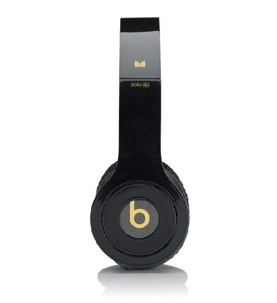 Monster Beats By Dre Headphones Solo HD Black Yellow