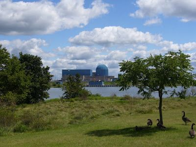 Clinton Power Plant, Clinton, ILLINOIS - THE LAND OF LINCOLN: July 2010