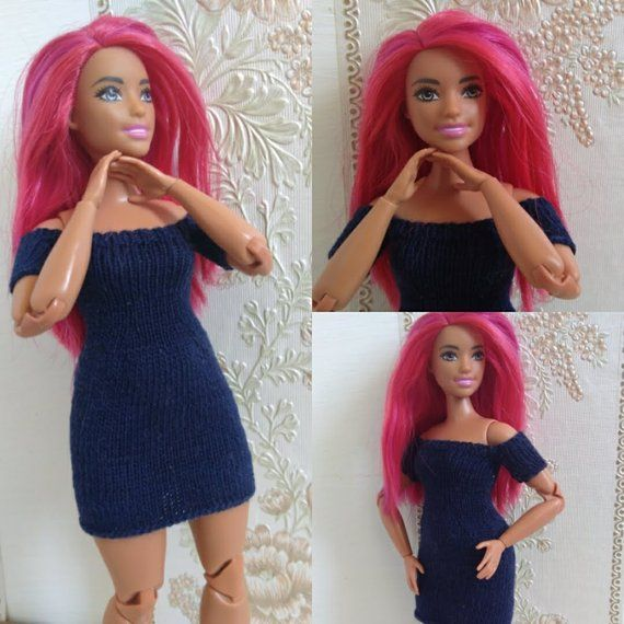 Barbie Doll Clothes Lot Dress Curvy