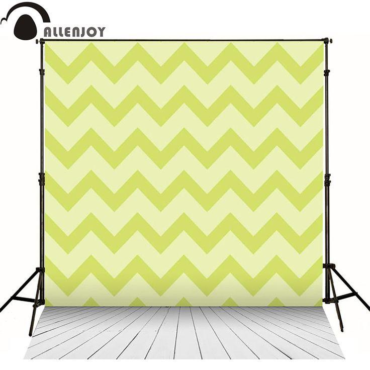 Allenjoy photography backdrops wood green geometric seamless pattern vintage chevron kids send rolled photo backgrounds studio