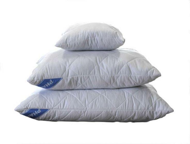poduszka 50*70 Soft, wykonana z białej tkaniny typu mikrofibra, przepikowanej wraz z włókniną termozgrzewaną oraz wypełniona kulkami silikonowymi.