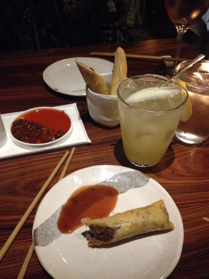 Asian food in Chelsea #london #duck #cocktails #perfection #yum