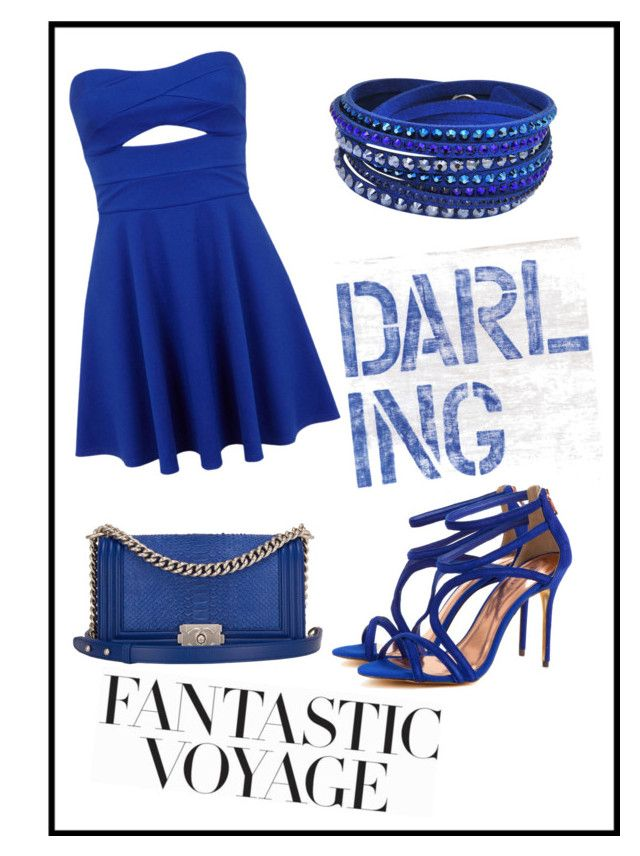 """""""Cute Blue Dress Outfit"""" by tumblurfashion ❤ liked on Polyvore"""