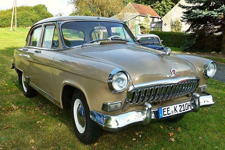 Wolga GAZ M21_ Limousine der 2. Generation Bauzeit 1958-1962 in Jagsal am 12.10.2014