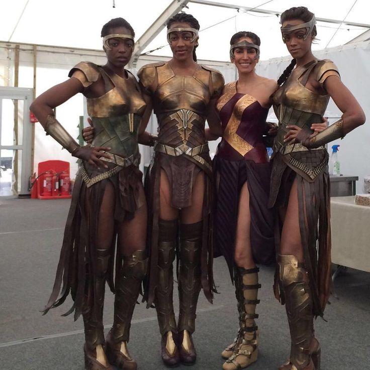 Amazon warrior woman costume